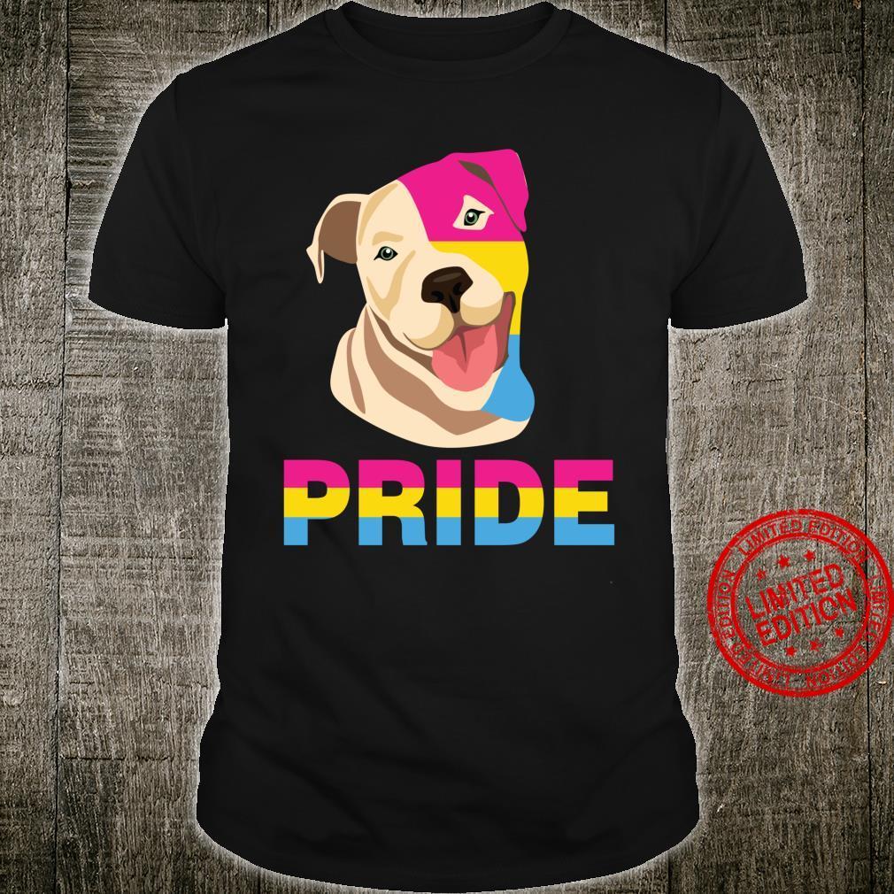 LGBT Labrador Retriever Dog Pansexual Rainbow Pride Support Shirt