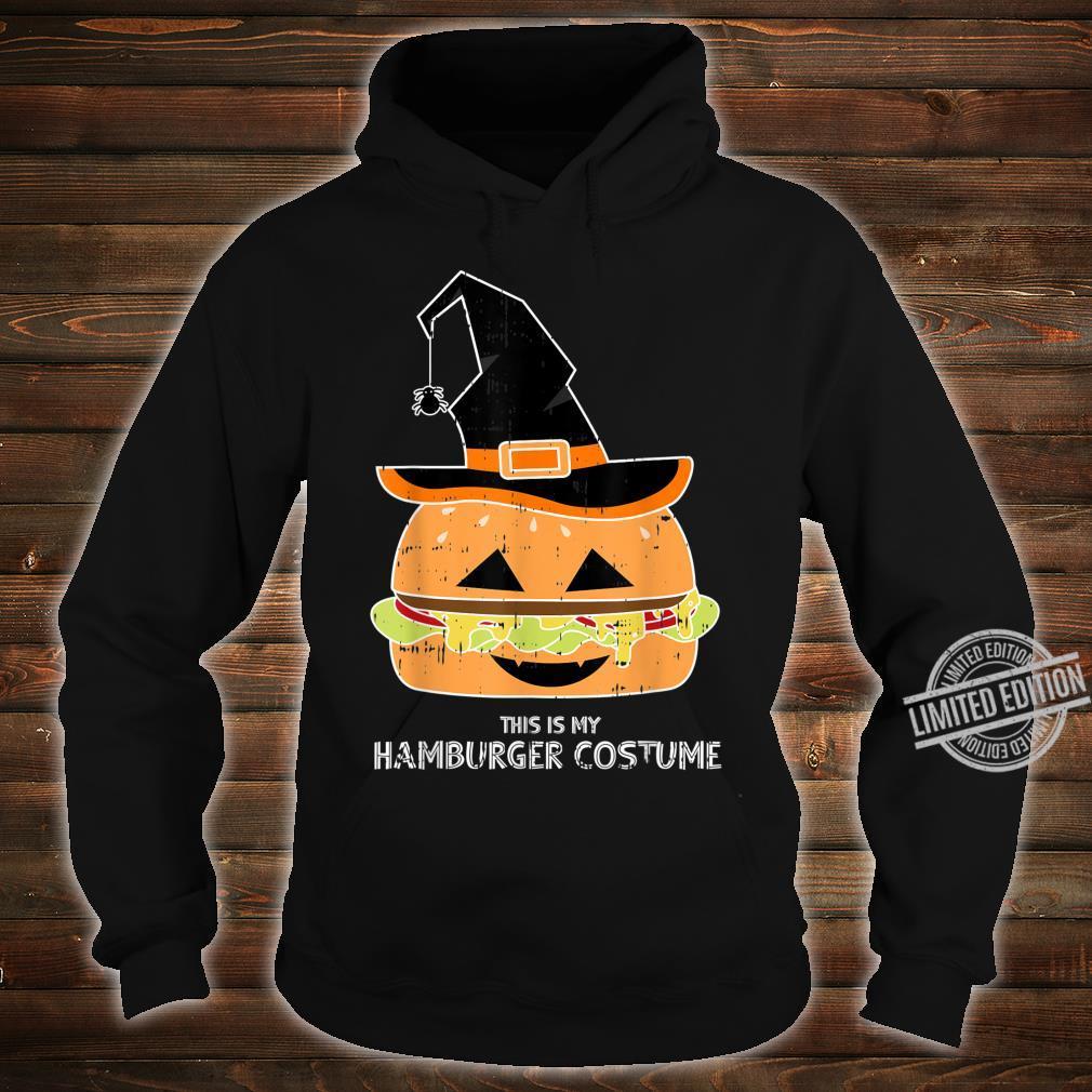My Witch Hamburger Burger Costume Easy Food Halloween Shirt hoodie