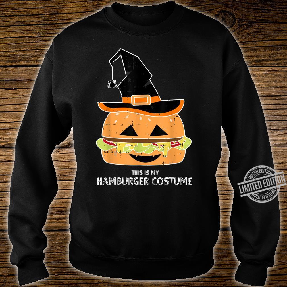 My Witch Hamburger Burger Costume Easy Food Halloween Shirt sweater