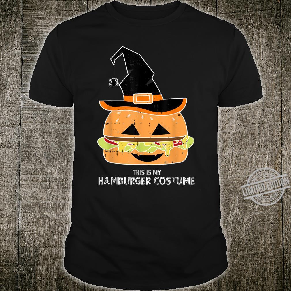 My Witch Hamburger Burger Costume Easy Food Halloween Shirt