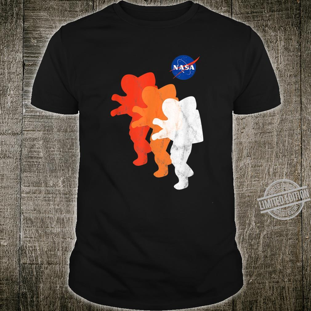 NASA Approved Officially Licensed Logo Astronauts Moon 2024 Shirt