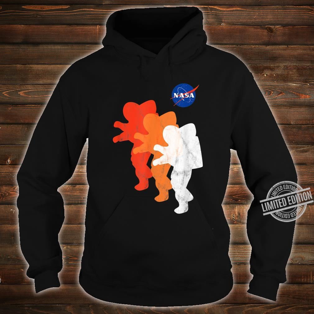 NASA Approved Officially Licensed Logo Astronauts Moon 2024 Shirt hoodie