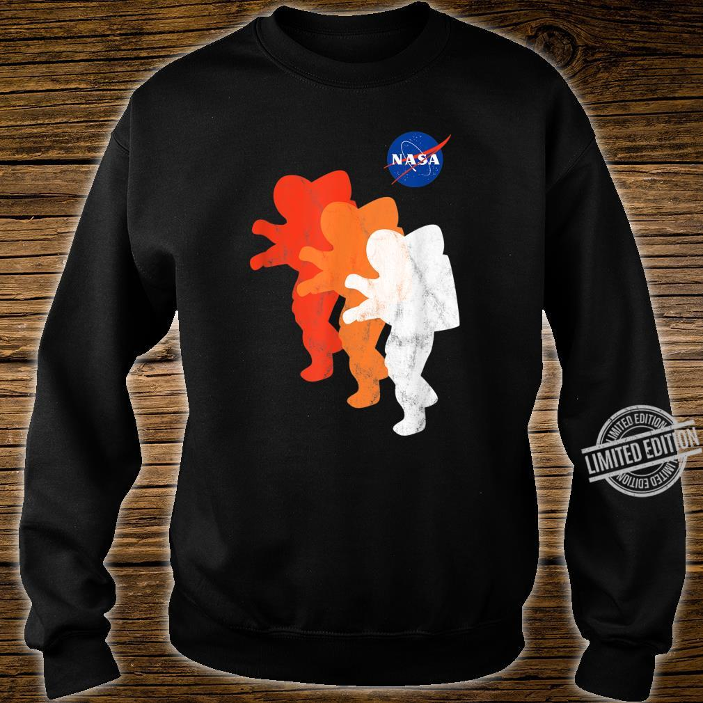 NASA Approved Officially Licensed Logo Astronauts Moon 2024 Shirt sweater