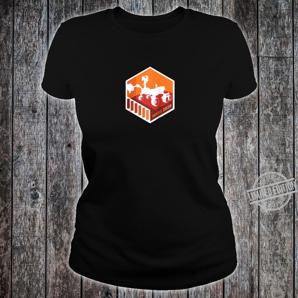 NASA JPL Mars 2020 Rover MissionMars Exploration Program Shirt ladies tee