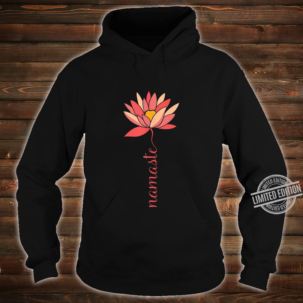 Namaste Lotus Meditation Workout Exercise Yoga Shirt hoodie