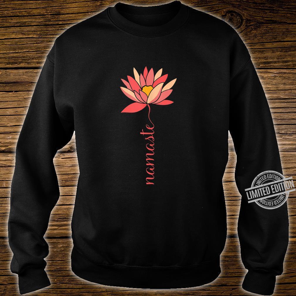 Namaste Lotus Meditation Workout Exercise Yoga Shirt sweater