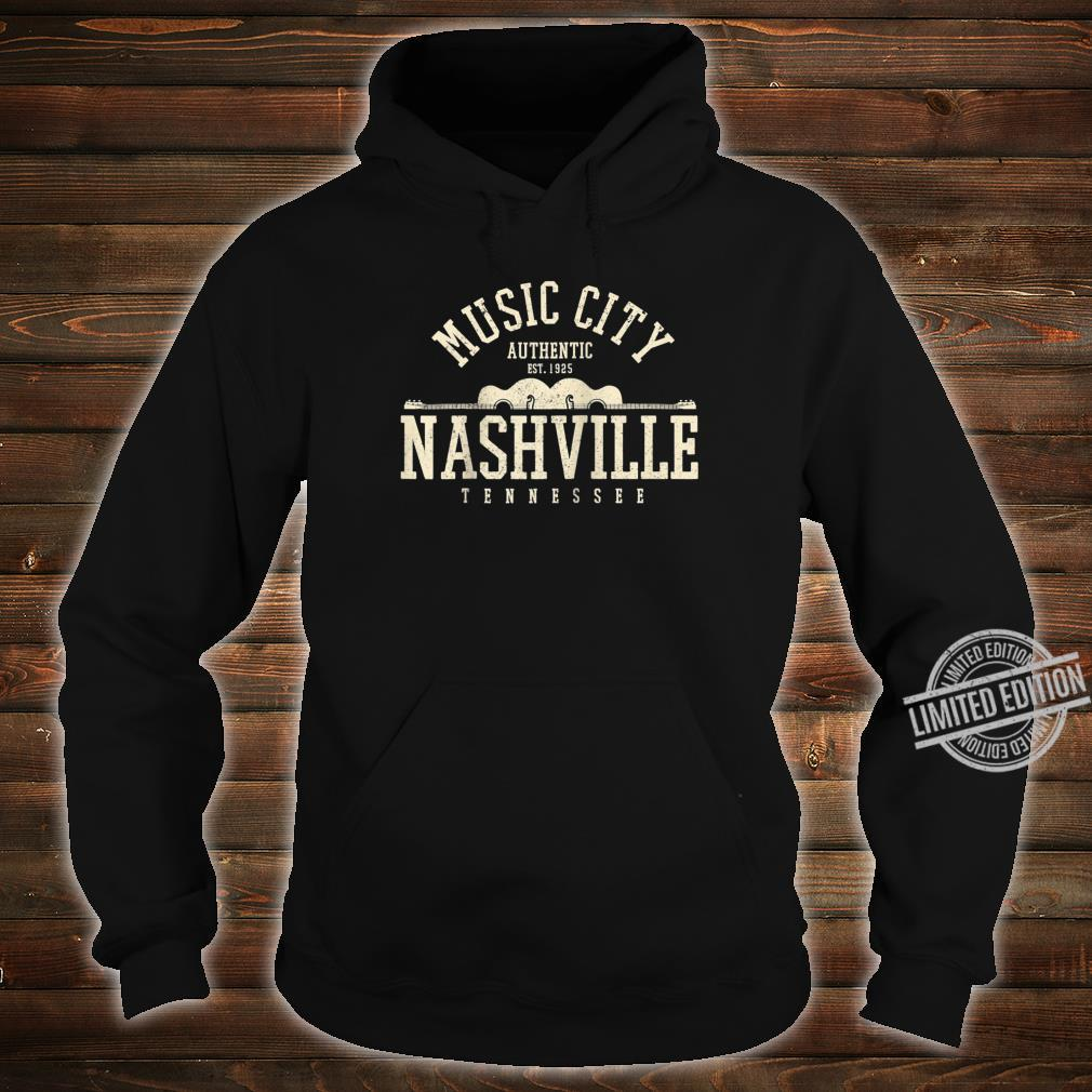 Nashville Tennessee Country Music City Guitar Vintage Shirt hoodie