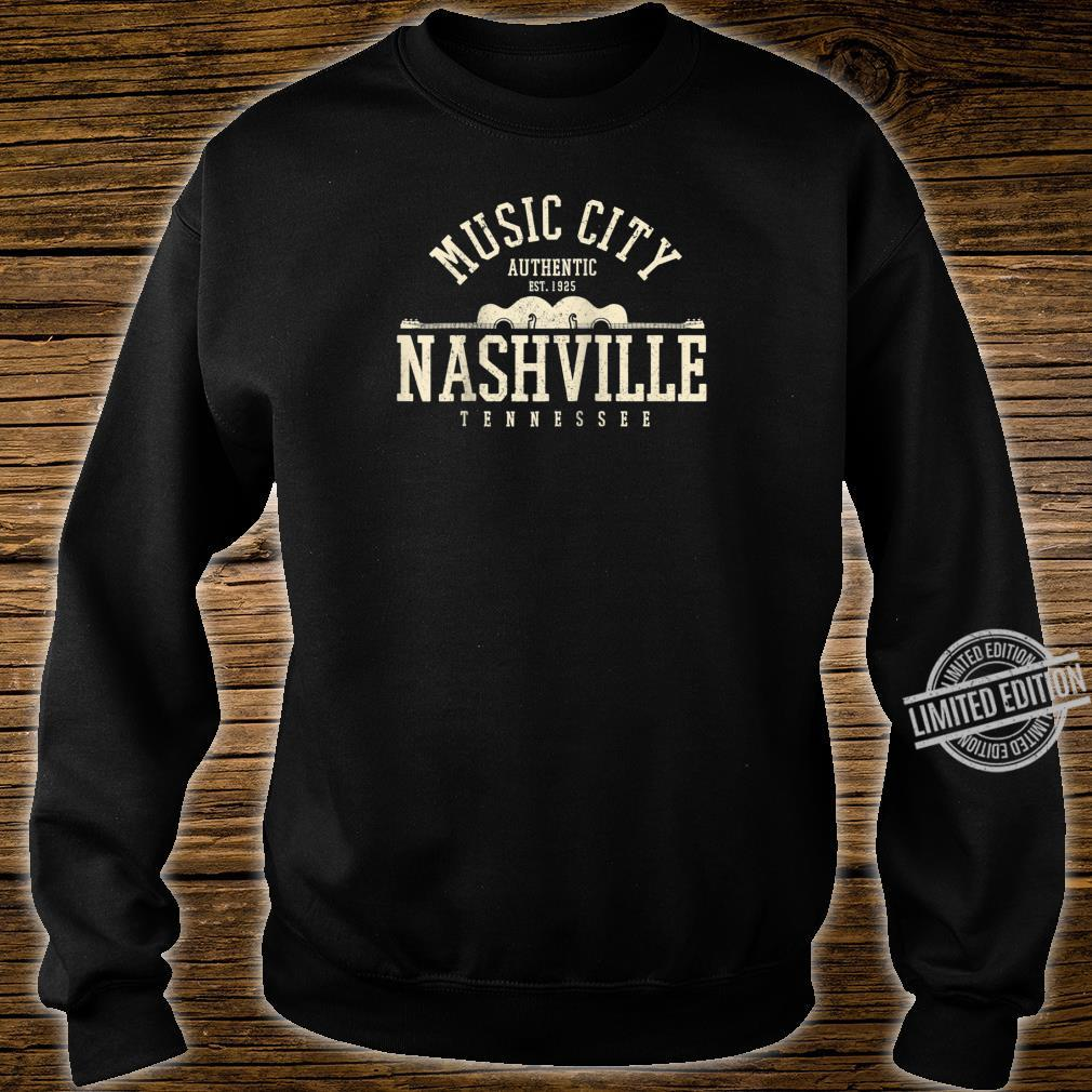 Nashville Tennessee Country Music City Guitar Vintage Shirt sweater
