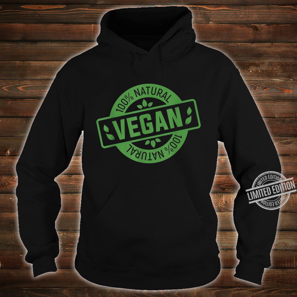 Natural Green Nature Earth Day Idea Vegan Shirt hoodie