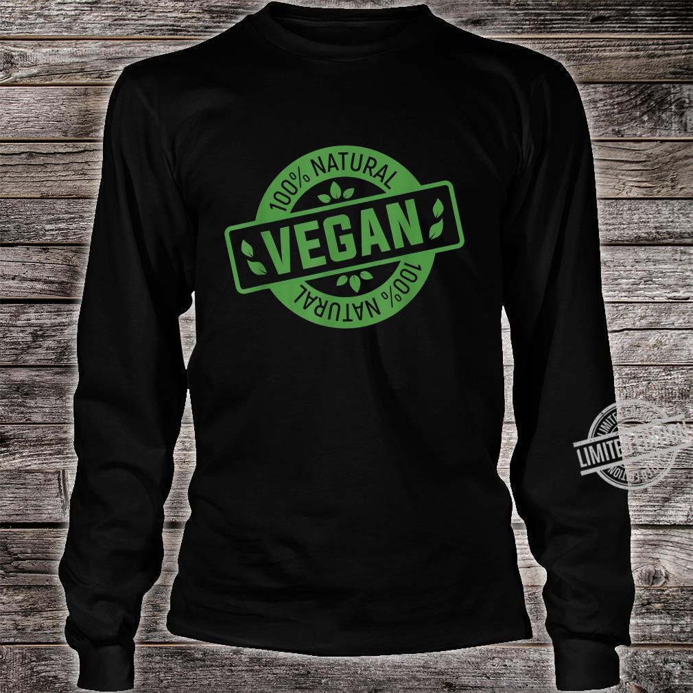 Natural Green Nature Earth Day Idea Vegan Shirt long sleeved