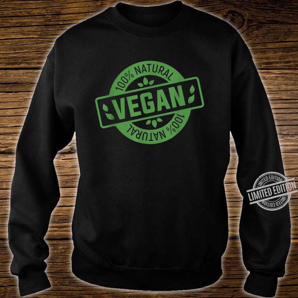 Natural Green Nature Earth Day Idea Vegan Shirt sweater
