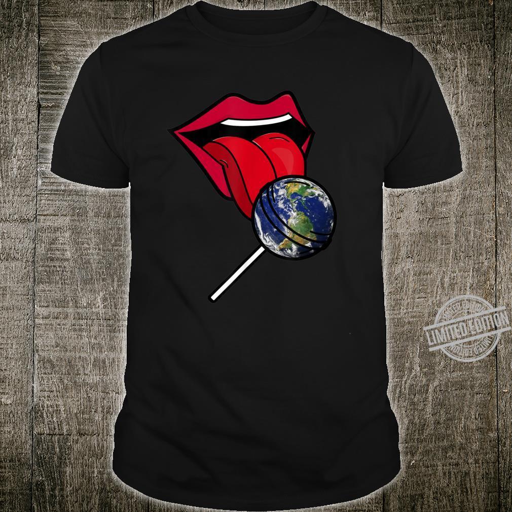 Planet Earth Lollipop Shirt