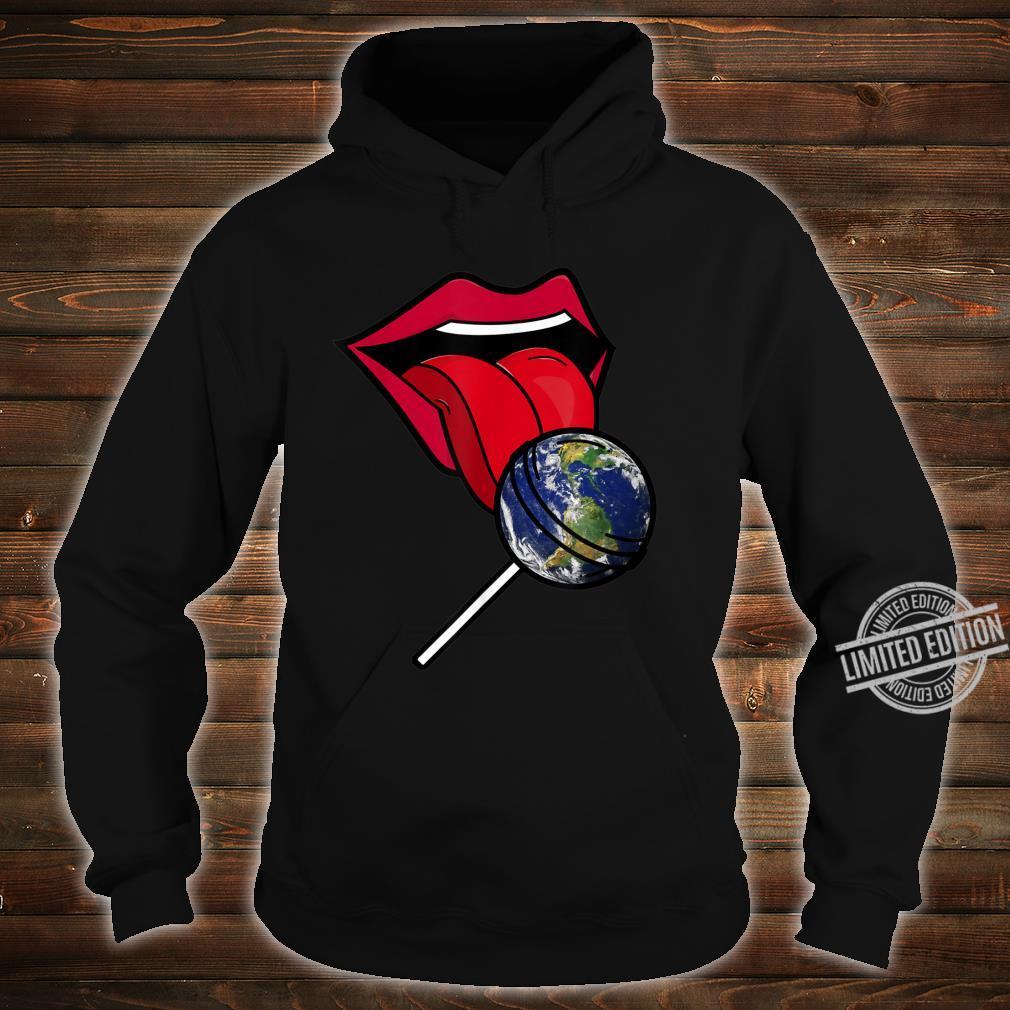 Planet Earth Lollipop Shirt hoodie