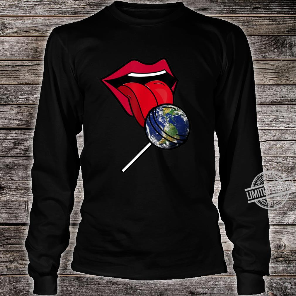 Planet Earth Lollipop Shirt long sleeved