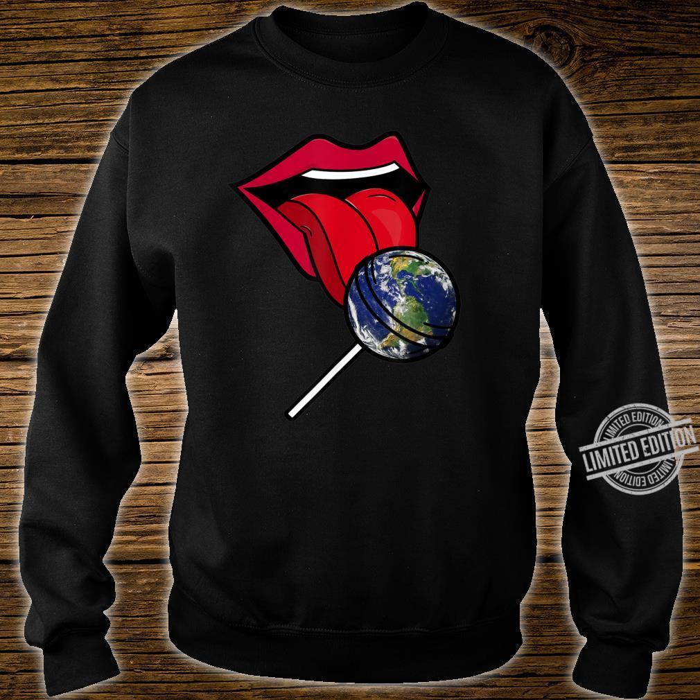 Planet Earth Lollipop Shirt sweater
