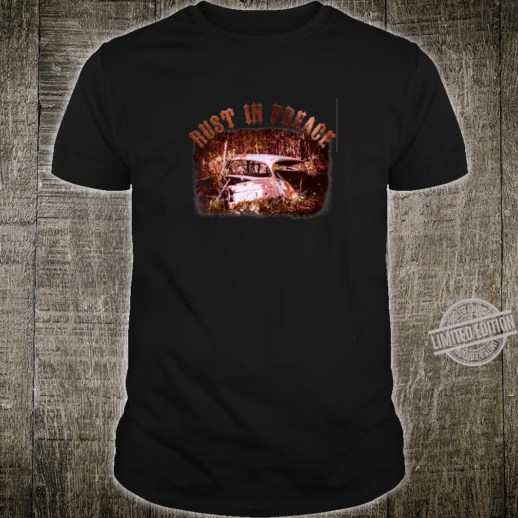 Rust in Peace Cars Shirt