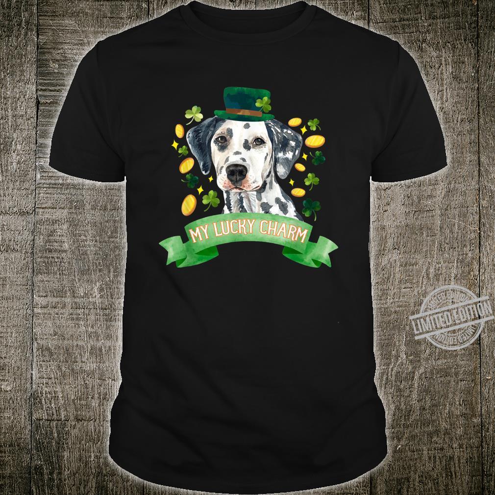 St Patrick's Day Dalmatian Shirt