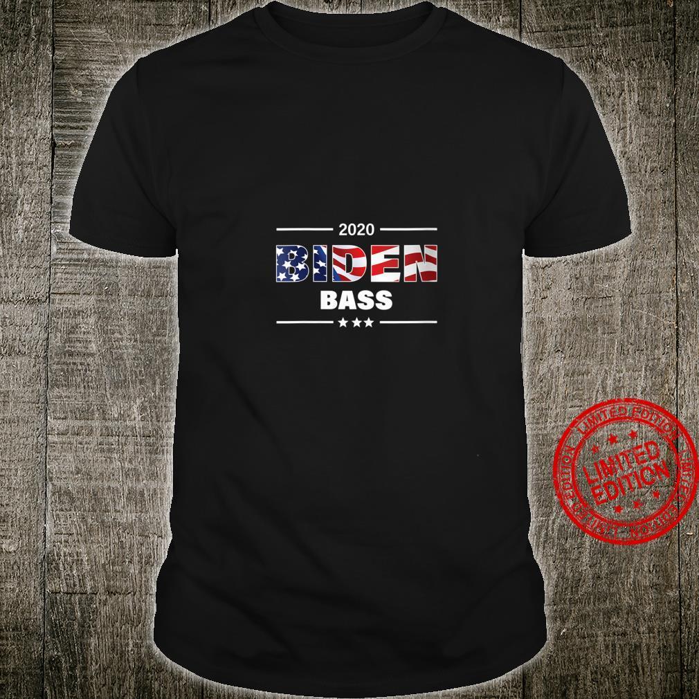 Womens Biden Bass 2020 President Shirt