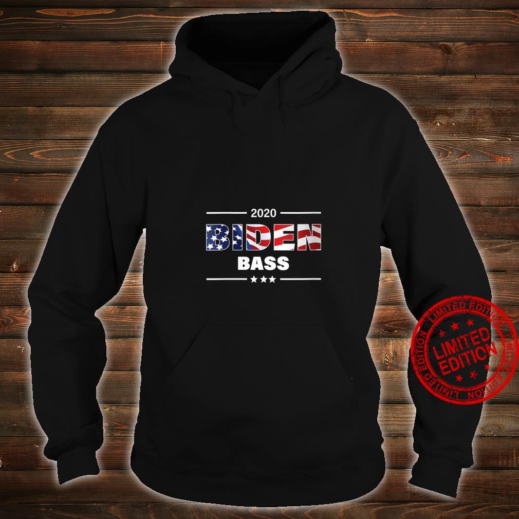 Womens Biden Bass 2020 President Shirt hoodie