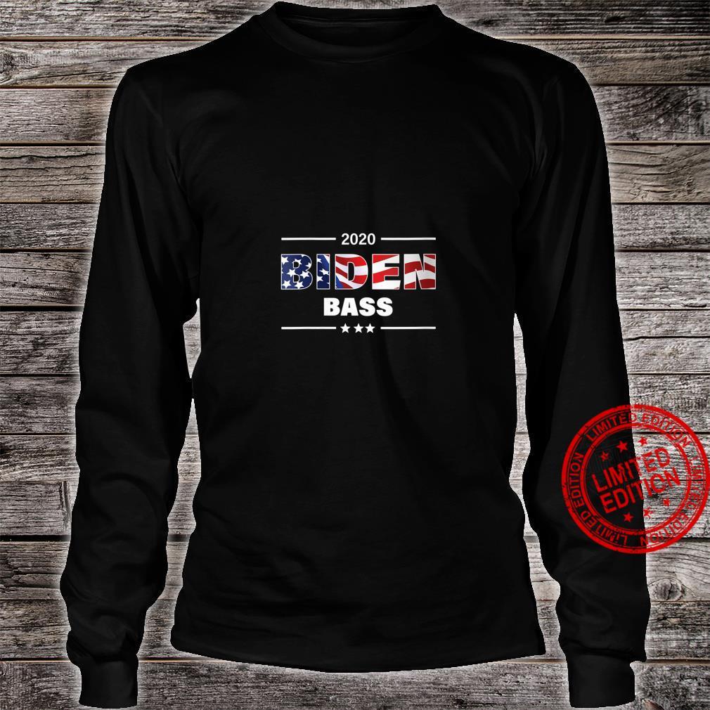 Womens Biden Bass 2020 President Shirt long sleeved