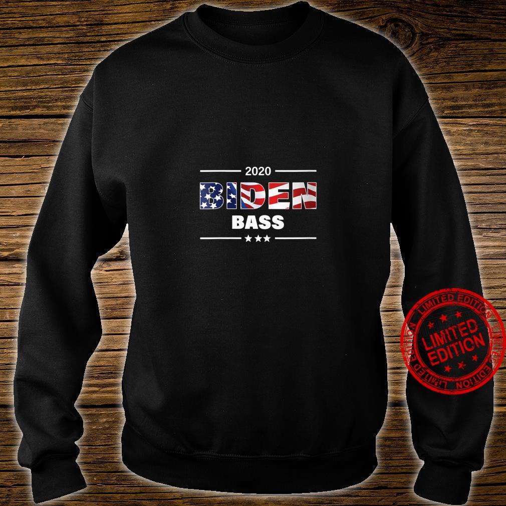 Womens Biden Bass 2020 President Shirt sweater