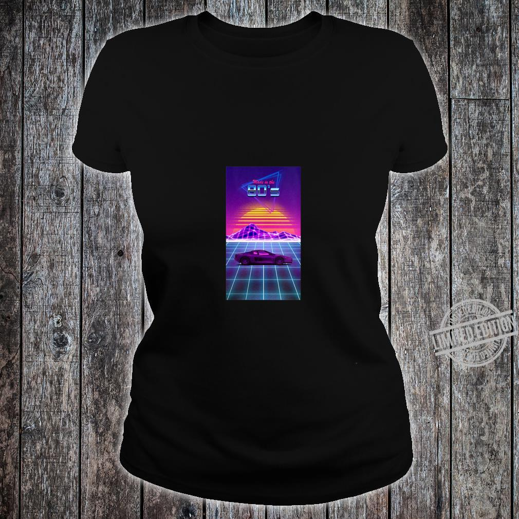 Womens Made in the 80's Shirt ladies tee